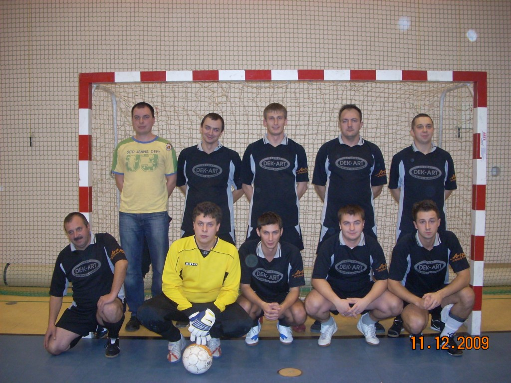 amatorska liga halowej pi�ki nożnej w k�obucku